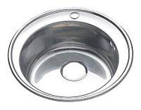Врезная кухонная мойка Saniteco WY-510 51х51см нержавеющая сталь
