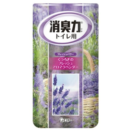 Shoshu-Riki дезодорант–ароматизатор для туалета с ароматом лаванды 400 мл 1 шт.