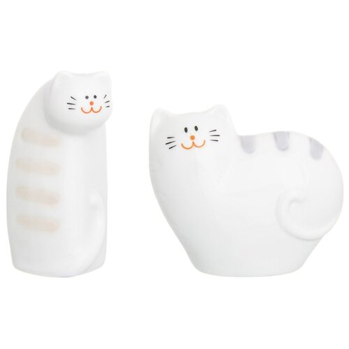 Elan gallery Набор для специй Сиамские коты набор аксессуаров для ванной elan gallery elan gallery mp002xu02i2u
