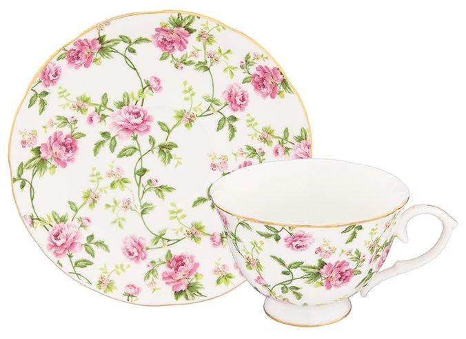 Elan gallery Чайная пара Плетистая роза 740279