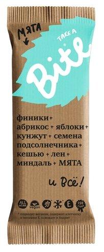 Фруктовый батончик Bite Мята без сахара, 45 г