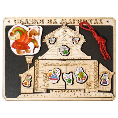 Нескучные игры Магнитный театр Теремок (К-0543/8) театр на столе нескучные игры приключения буратино 7740 24
