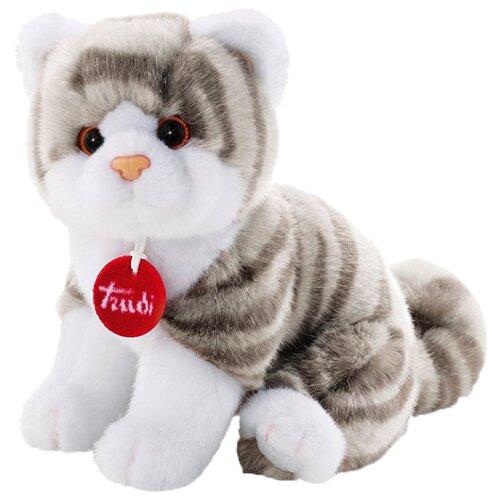 Купить Мягкая игрушка Trudi Котёнок Брэд тигрово-серый 24 см, Мягкие игрушки