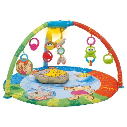 Купить Развивающий коврик Chicco Bubble Gym (69028), Развивающие коврики