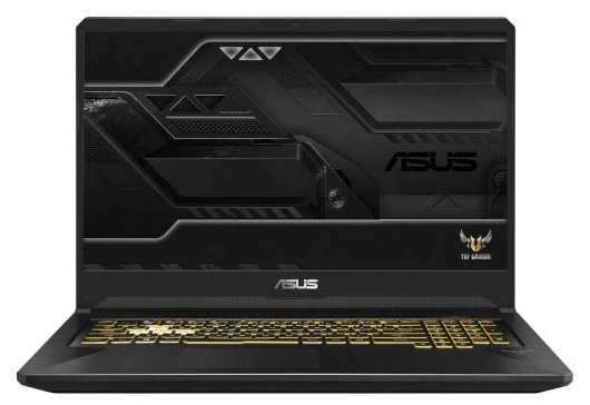 "Ноутбук ASUS TUF Gaming FX705GM-EV203 (Intel Core i5 8300H 2300 MHz/17.3""/1920x1080/16GB/1256GB HDD+SSD/DVD нет/NVIDIA GeForce GTX 1060/Wi-Fi/Bluetooth/Без ОС)"