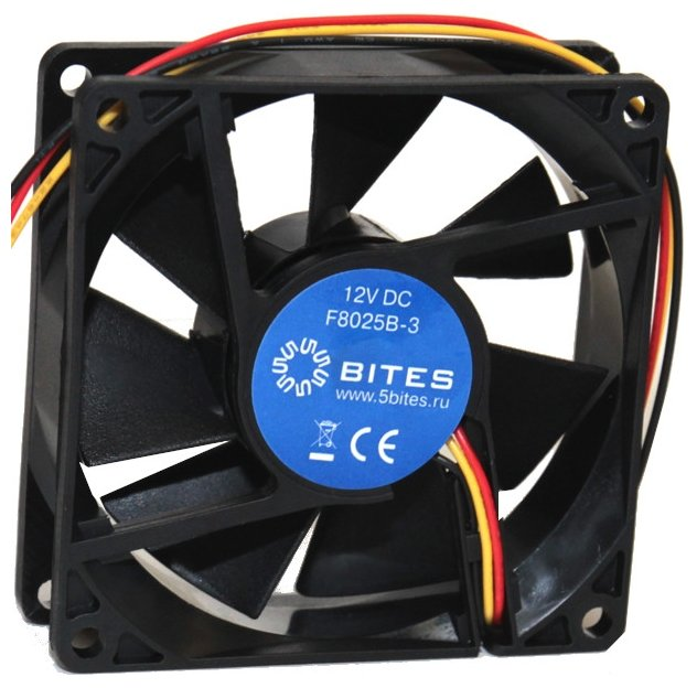 5bites Система охлаждения для корпуса 5bites F8025B-3