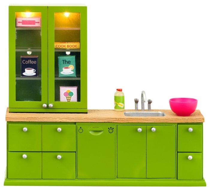 Lundby Кухонный набор с буфетом Смоланд (LB_60207700)