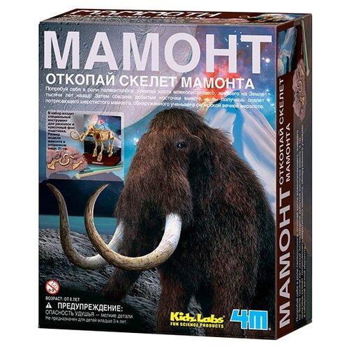 Купить Набор для раскопок 4M Мамонт, Наборы для исследований