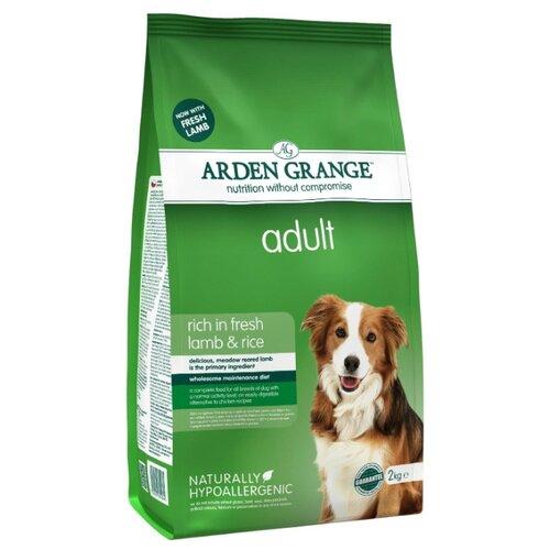 Корм для собак Arden Grange (2 кг) Adult ягненок и рис сухой корм для взрослых собакКорма для собак<br>