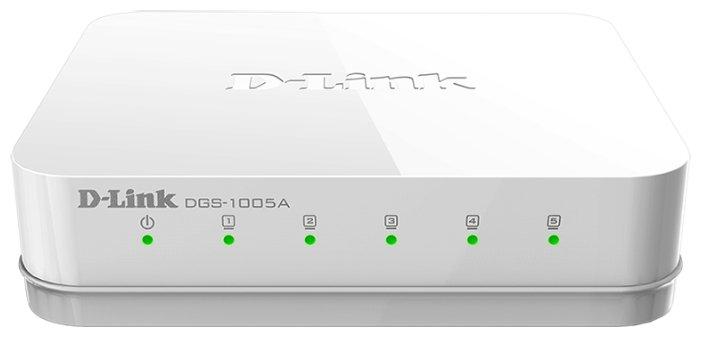 D-link Коммутатор D-link DGS-1005A/D1A