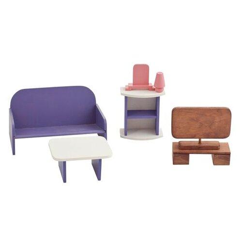 Фото - PAREMO Набор мебели для гостиной (PDA417) белый/фиолетовый/коричневый paremo набор мебели для ванной комнаты pda417 04 белый бежевый