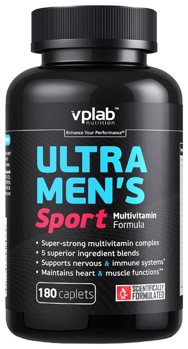 Минерально-витаминный комплекс VP Laboratory Ultra Men's Sport (180 каплет)