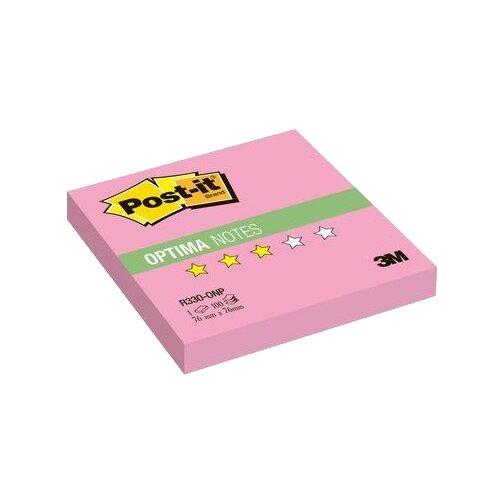 Post-it Блок-кубик Optima, 76x76 мм, 100 штук (R330) розовый неоновый post it блок кубик optima 76x76 мм 100 штук r330 розовый неоновый