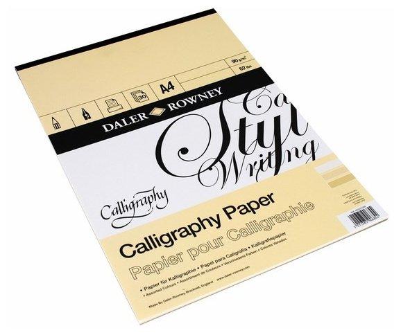 Альбом для каллиграфии Daler-Rowney Calligraphy 29.7 х 21 см (A4), 90 г/м², 30 л.