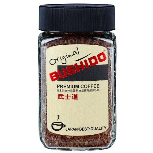 Кофе растворимый Bushido Original, стеклянная банка, 50 г