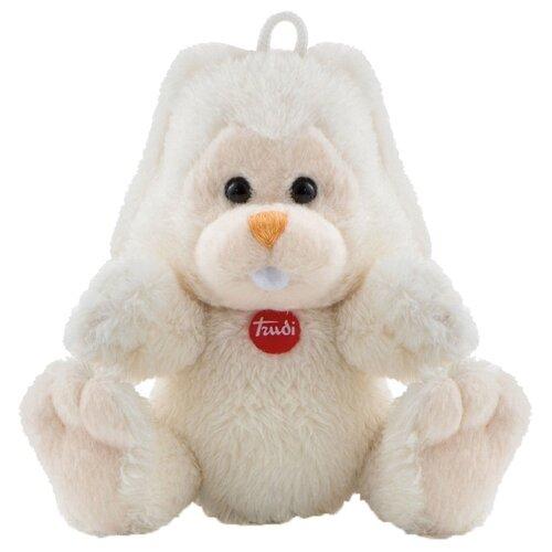 Купить Игрушка-брелок Trudi Заяц Вирджилио 9 см, Мягкие игрушки