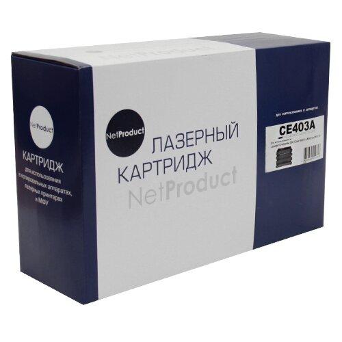 Фото - Картридж Net Product N-CE403A, совместимый картридж net product n ce401a совместимый
