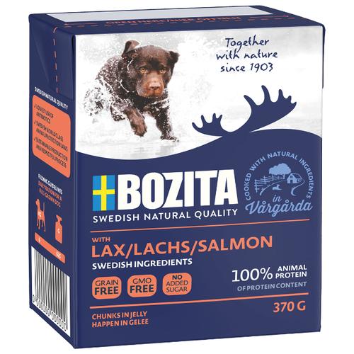 Влажный корм для собак Bozita лосось 370г