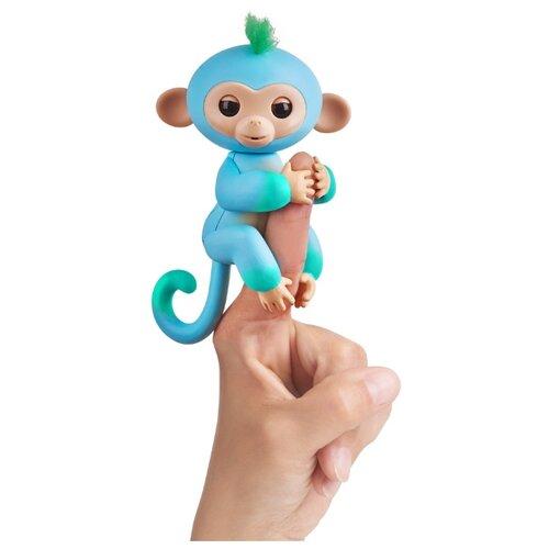 Купить Интерактивная игрушка робот WowWee Fingerlings Ручная обезьянка Двухцветная чарли, Роботы и трансформеры