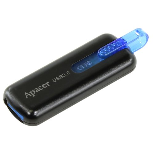 Флешка Apacer AH354 16GB черныйUSB Flash drive<br>