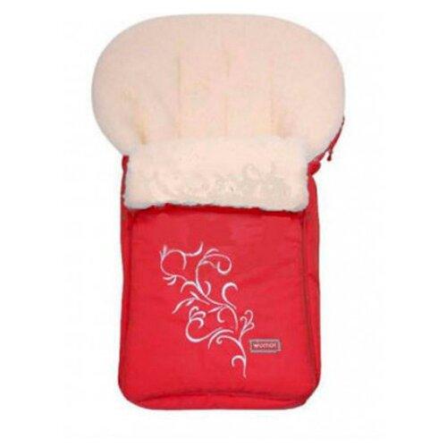 Купить Конверт-мешок Womar Siberia в коляску 95 см 4/2 красный, Конверты и спальные мешки