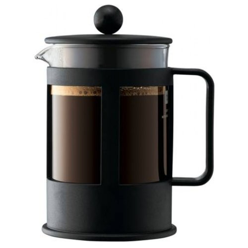 Френч-пресс Bodum Kenya 1784 (0,5 л) черныйФренч-прессы и кофейники<br>
