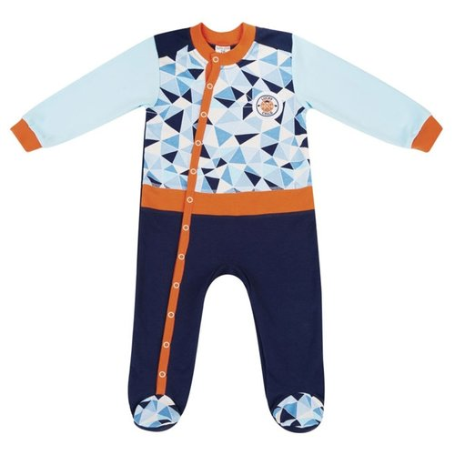 Купить Комбинезон lucky child размер 18, синий/голубой, Комбинезоны