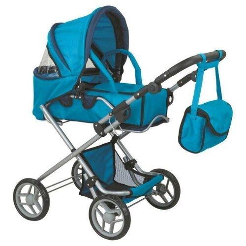 Купить Коляска-трансформер Buggy Boom Infinia (8456) синий, Коляски для кукол