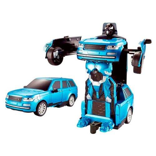Робот-трансформер 1 TOY Внедорожник голубойРоботы и трансформеры<br>