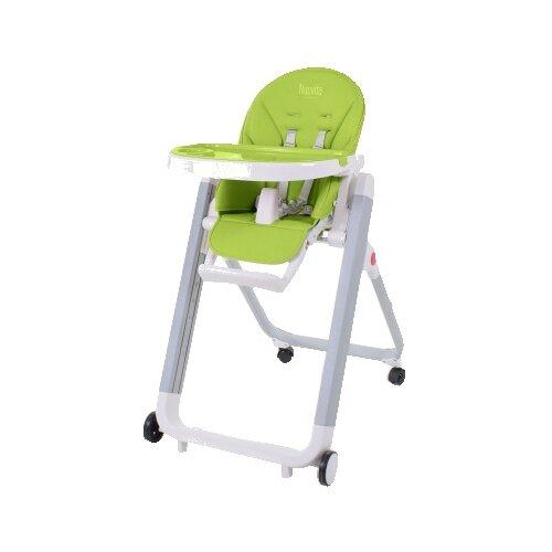 Растущий стульчик Nuovita Futuro Senso verde bianco