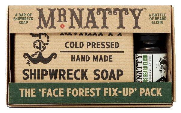 MR NATTY Набор для бороды Face Forest Fix Up Pack