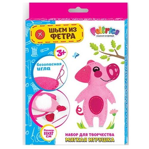 Купить Feltrica Набор для изготовления мягкая игрушка Поросёнок (4627130659654), Изготовление кукол и игрушек