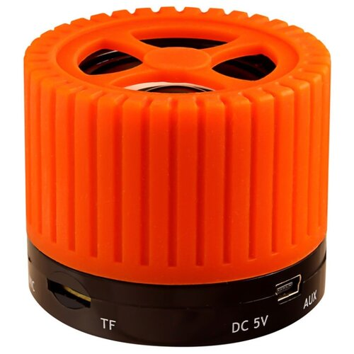 Портативная акустика Ginzzu GM-988 оранжевый