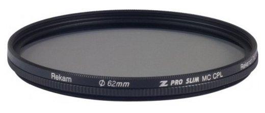 Светофильтр поляризационный круговой Rekam Z Pro Slim CPL MC 62 мм