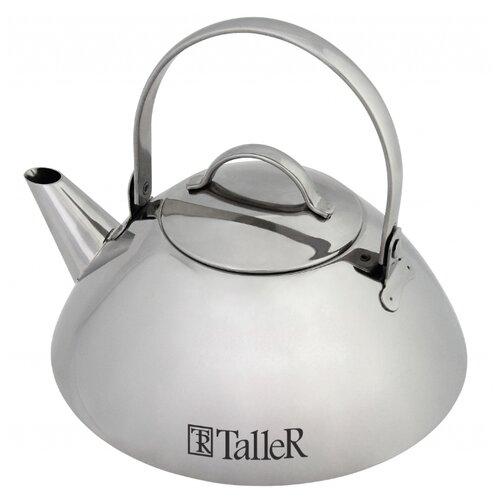 Taller Заварочный чайник Саймон TR-1345 1 л, серебристый