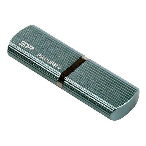 Фото - Флешка Silicon Power Marvel M50 8 GB, 1 шт., голубой флешка silicon power touch t30 8 gb голубой