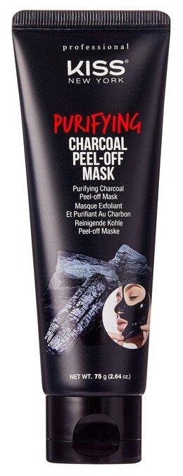 Kiss New York Professional Очищающая маска-пленка с древесным углем