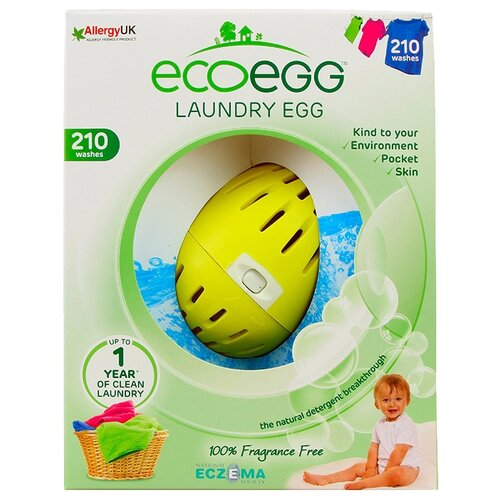 Ecoegg шары для стирки Без запаха, картонная пачка, количество стирок: 210