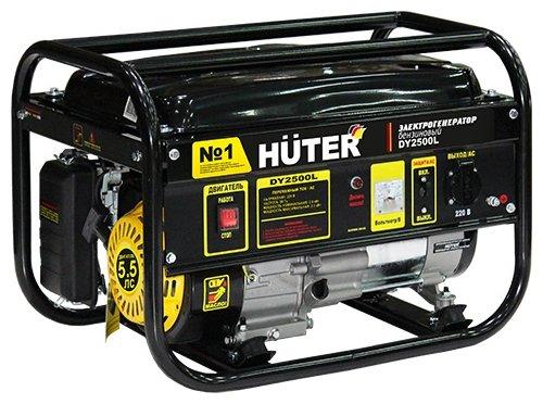 Бензиновый генератор Huter DY2500L (2000 Вт)