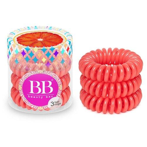 цена на Резинка Beauty Bar браслет 3 шт. коралловый