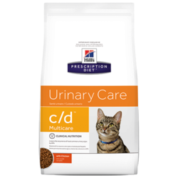 Корм для кошек Hill's Prescription Diet C/D Multicare Feline Chicken dry