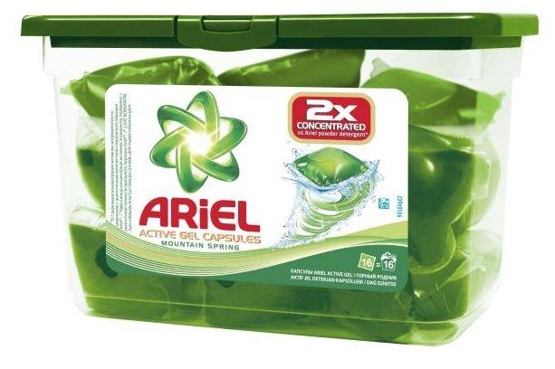 Капсулы Ariel Active Gel Горный родник