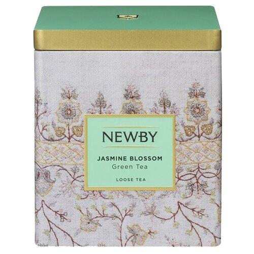 Чай зеленый Newby Classic Jasmine blossom, 125 г благовония hem jasmine blossom цветение жасмина 20 палочек