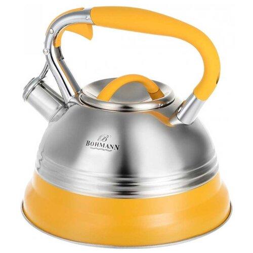 Bohmann Чайник BH-9921 3 л, желтый bohmann чайник bh 9911 3 л оранжевый