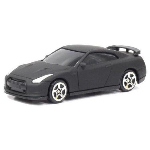 Купить Легковой автомобиль RMZ City Nissan GTR (R35) (344013SM) 1:64 матовый черный, Машинки и техника