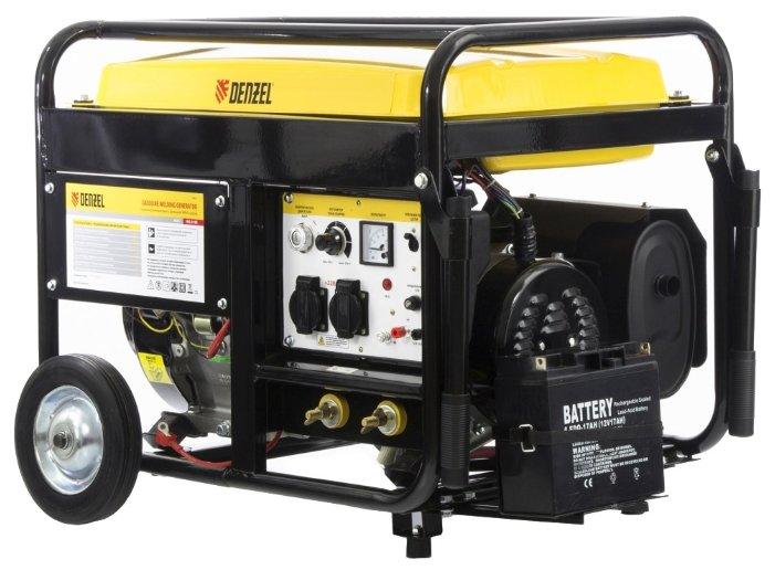 Бензиновый генератор Denzel WG 210E (4500 Вт)