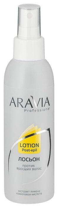 Aravia Лосьон Professional против вросших волос с лимоном
