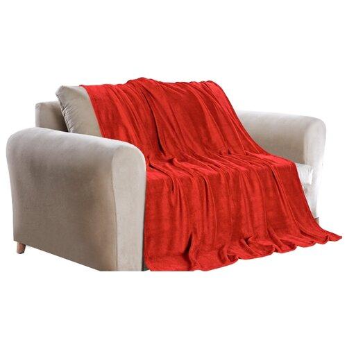 цена Покрывало Guten Morgen Красный, 180 х 200 см, красный онлайн в 2017 году