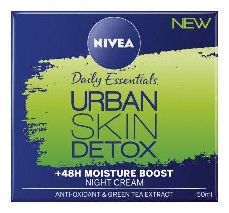 Nivea Daily Essentials Urban Skin Detox Night Cream Ночной детокс-крем для лица