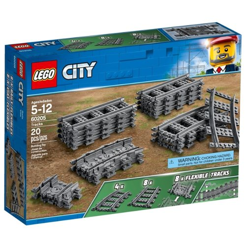 Конструктор LEGO City 60205 РельсыКонструкторы<br>